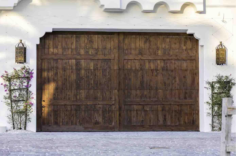 Wood Garage Door Garage Harmony