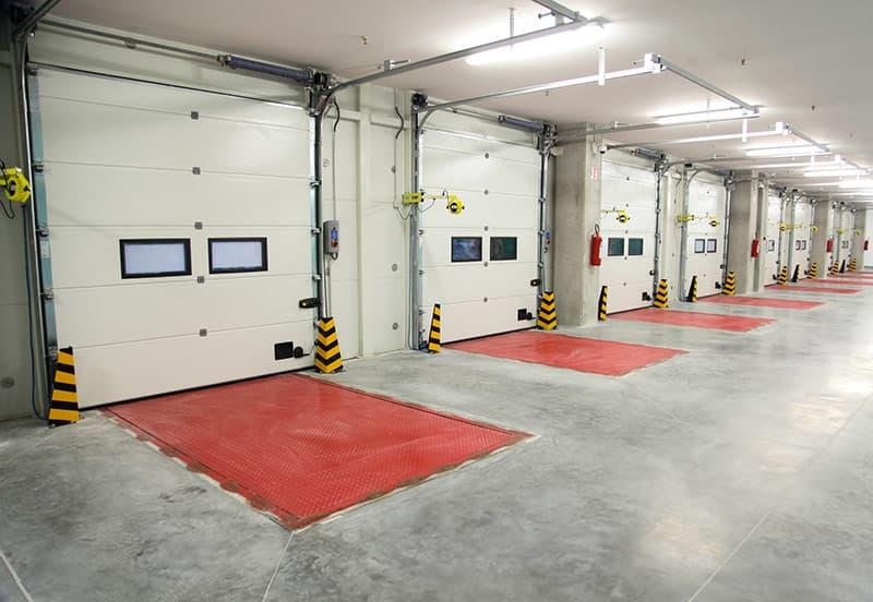 Commerical warehouse garage doors instlled Garage Harmony