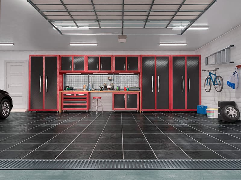 Garage wall storage system Garage Harmony in WA & OR